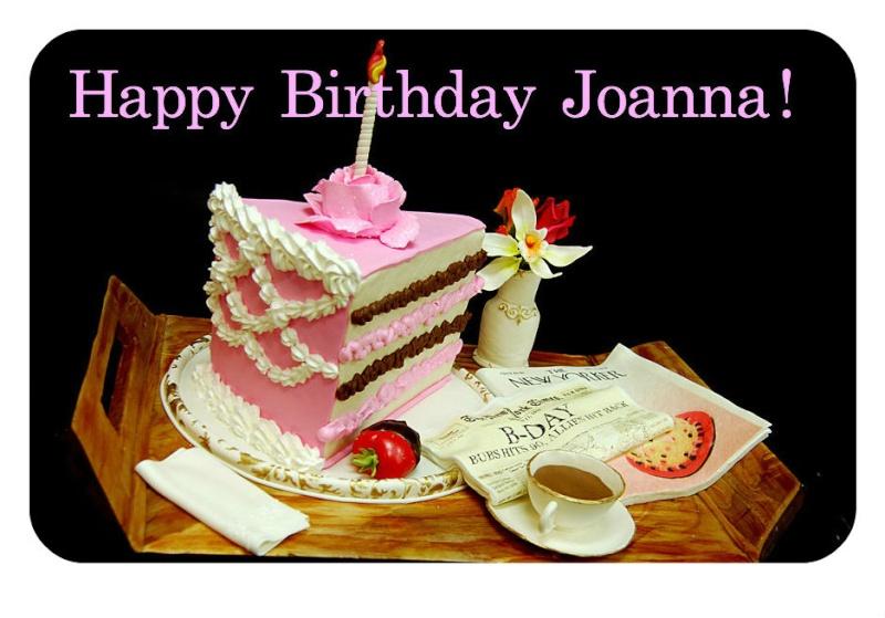 Happy Birthday Joanna Cake
