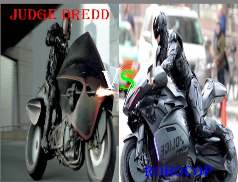 Judge Dredd 2012 Vs Robocop 2014 Ragnarok Debating