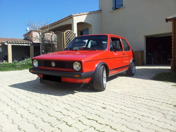 vw golf 1 gti 1800 plus de 1984 alain 13. Black Bedroom Furniture Sets. Home Design Ideas