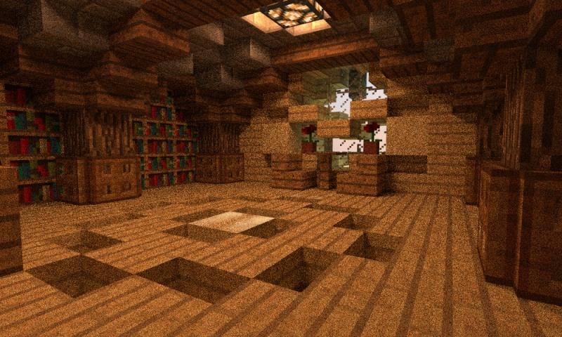 Minecraft Hobbit Hole Interior The