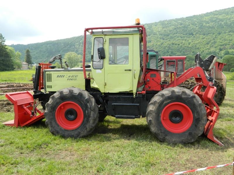 tracteur forestier mercedes mb trac 1000