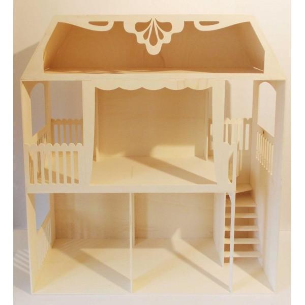 o trouver maisons de poup es 1 6 ou 1 12 personnaliser. Black Bedroom Furniture Sets. Home Design Ideas