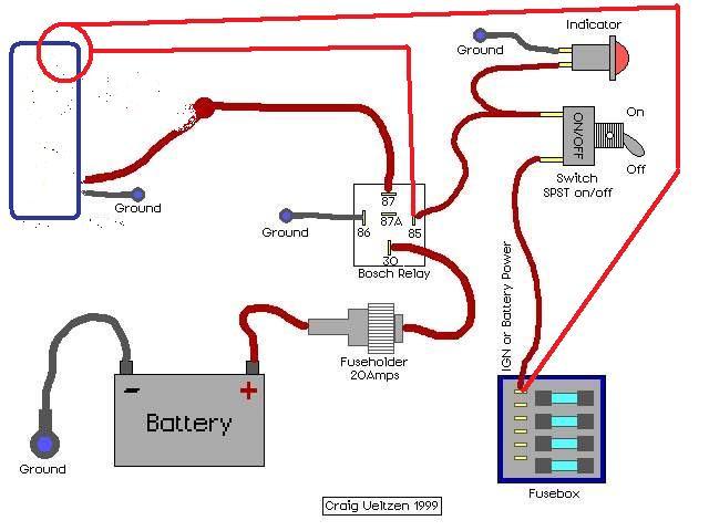 schema electrique branchement ventilateur moteur