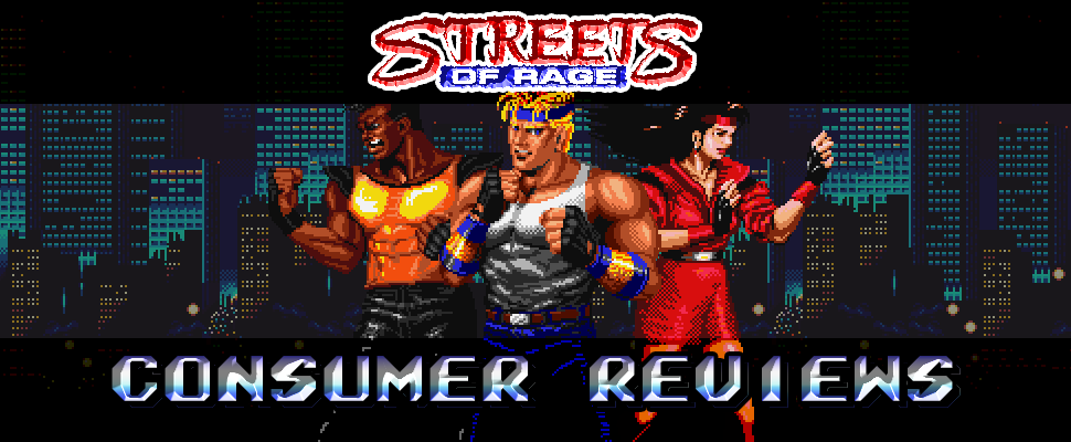 Streets of Rage - Consumer reviews