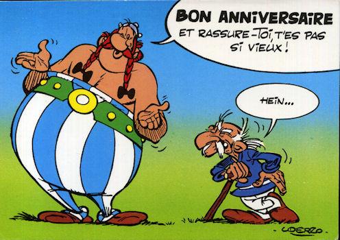 Afficher Le Sujet Bon Anniversaire Asterix