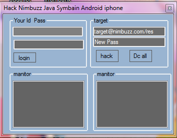 Nimbuzz tools tricks tips pc flooders pc bots crackers ids makers