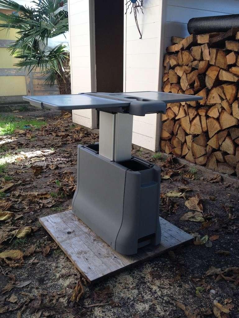 vendue) vends table pliable papillon pour mercedes viano