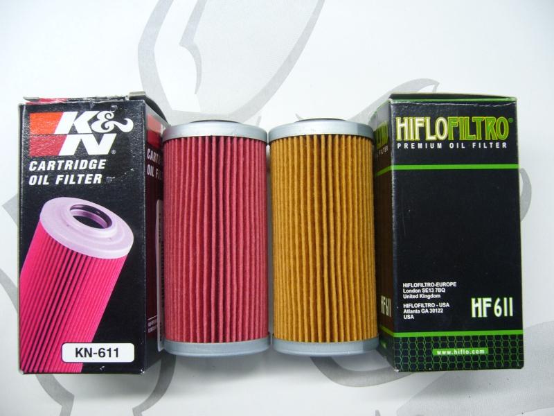 comparatif filtre huile hiflofiltro hf611 vs k n kn611. Black Bedroom Furniture Sets. Home Design Ideas