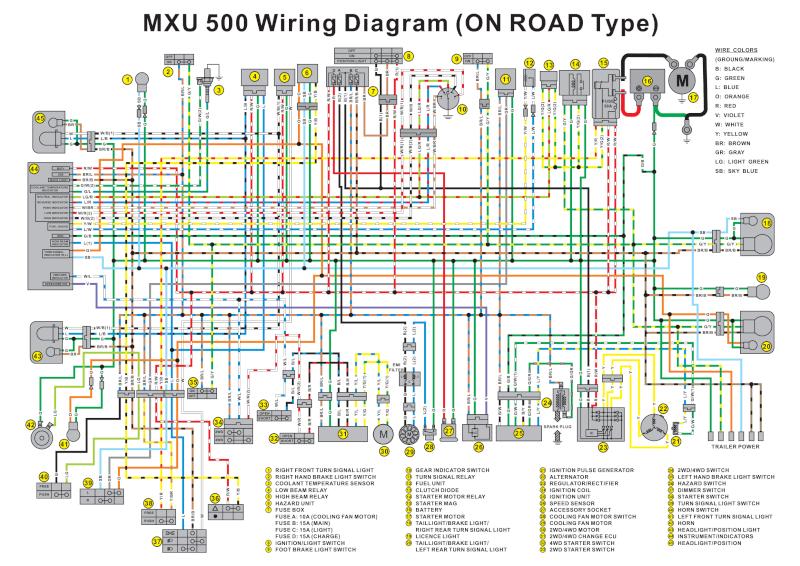 yamaha quad wiring diagram quad clutch diagram wiring