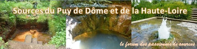 Sources du Puy de Dôme et de Haute-Loire