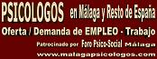 Oferta EMPLEO Trabajo PSICOLOGOS Malaga