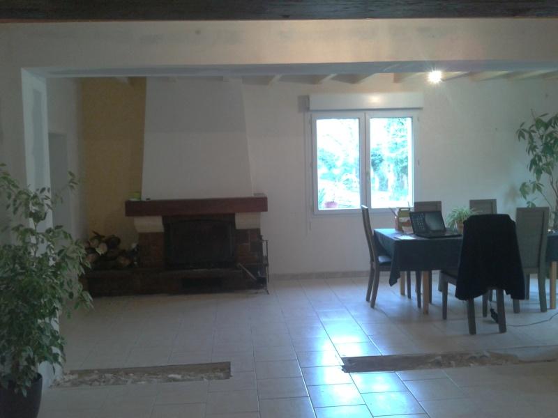 ca avance mais il manque encore peinture du salon sam. Black Bedroom Furniture Sets. Home Design Ideas