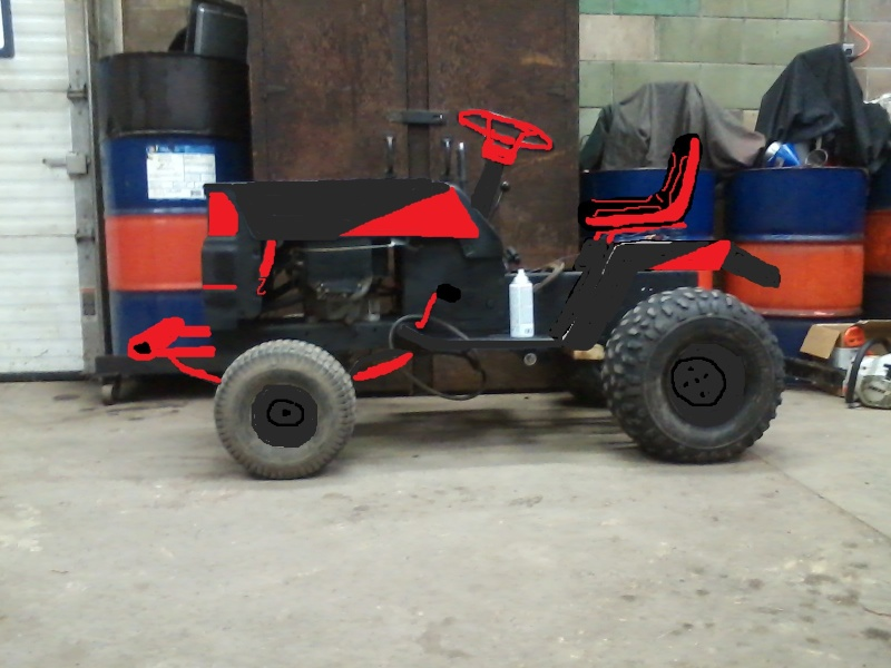 Mtd Tractor Bumper : Lmm s rally mower page