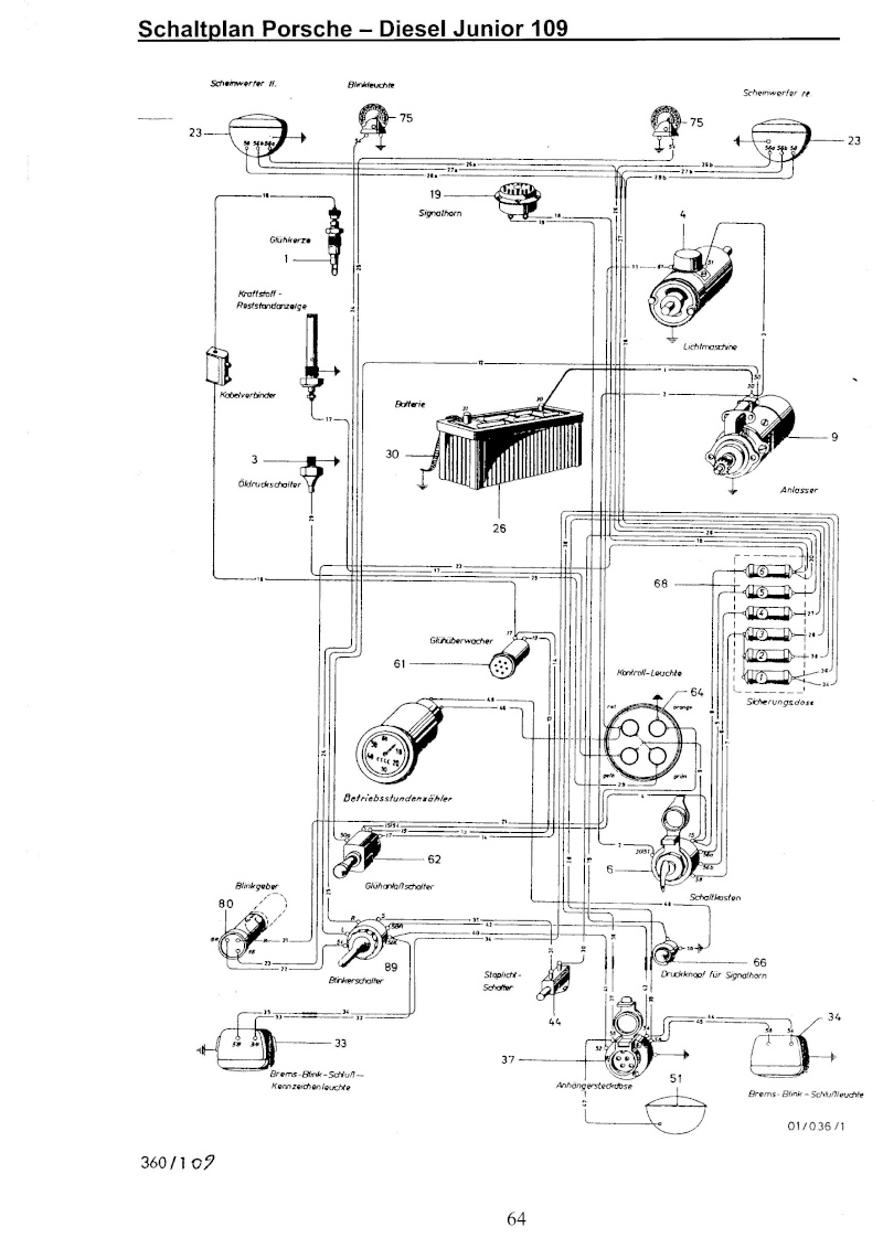 porsche diesel junior 108