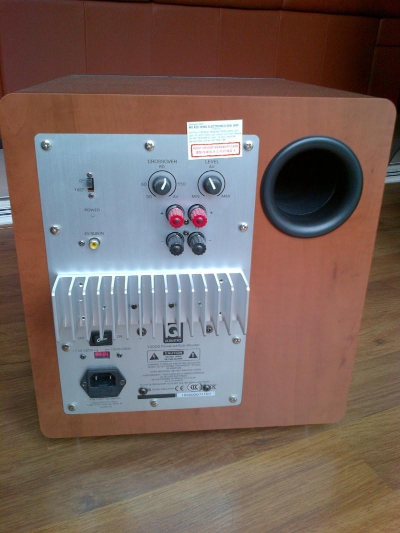 Q Acoustics 1000s Subwoofer Sold