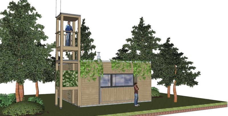 Construire une cabane en bois avec des palettes maison for Construire sa maison en palette