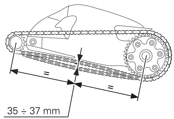 Ducati Chain Slack