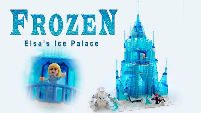 vous rvez dun palais de glace avec elsa anna et olaf en lego pour vous ou votre petite fille