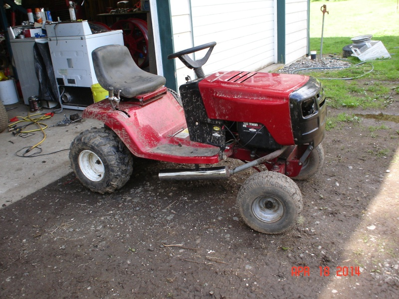 Murray Racing Mower : Murray widebody trail mower page