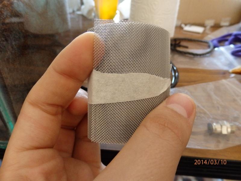 sopalin, tule, tissus et chélicère, crochet
