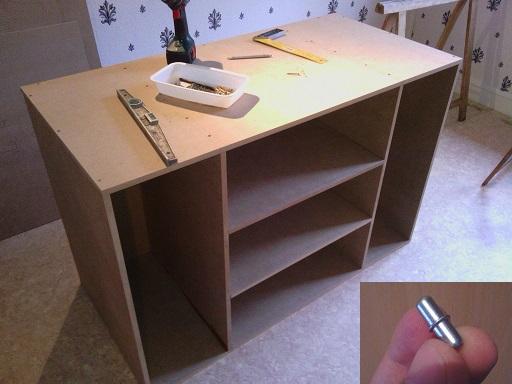 Construction d 39 un meuble terrarium en mdf pour pogona henrylawsoni - Construire un meuble en mdf ...