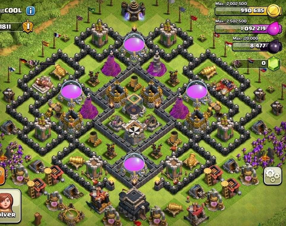 Aldea De Ayuntamiento Nivel 8 Clash Of Clan - newhairstylesformen2014 ...