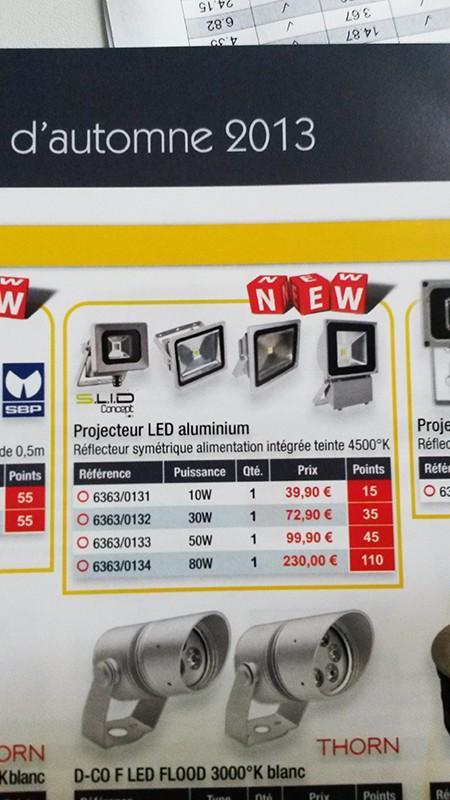 projecteur led 6363