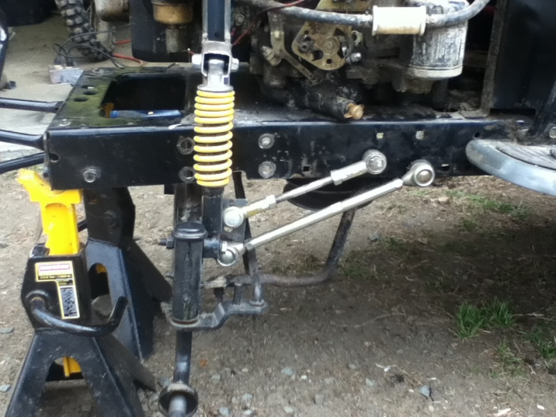 Tractor Front Suspension : Link murray front suspension