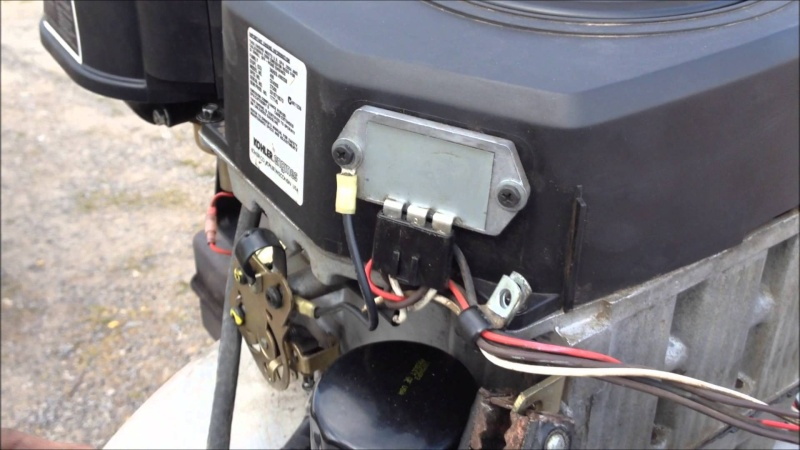 Kohler Command Voltage Regulator : Wheres the charge wire on a hp kohler command need