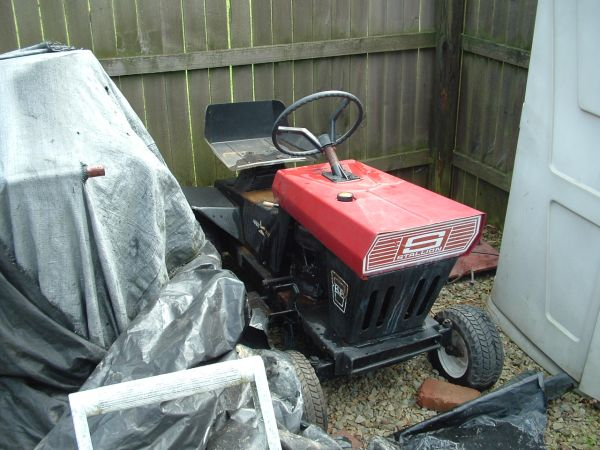 Stallion Racing Mower Project Yeah Buddy