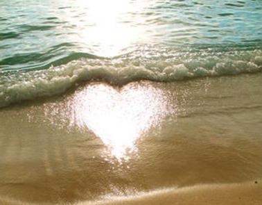 reflet coeur